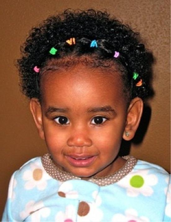 2019 Latest Black Baby Hairstyles For Short Hair