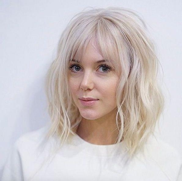 Best 25+ Blonde Hair Bangs Ideas On Pinterest | Hillary Duff Hair Intended For Short Blonde Hair With Bangs (View 11 of 15)