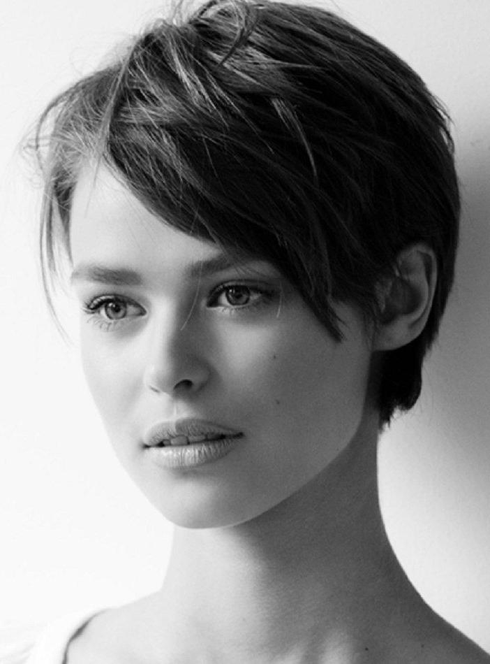 15 Best Collection of Short Hairstyles For Brunette Women