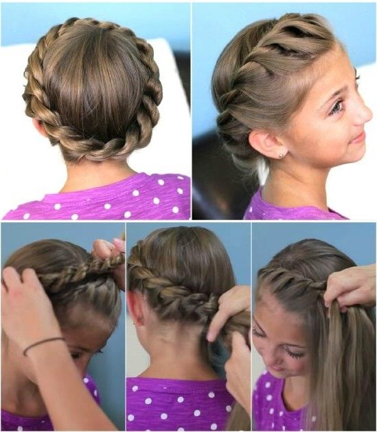 Best 25+ Cute Girls Hairstyles Ideas On Pinterest | Cgh Hairstyles Within Cool Hairstyles For Short Hair Girl (View 7 of 15)