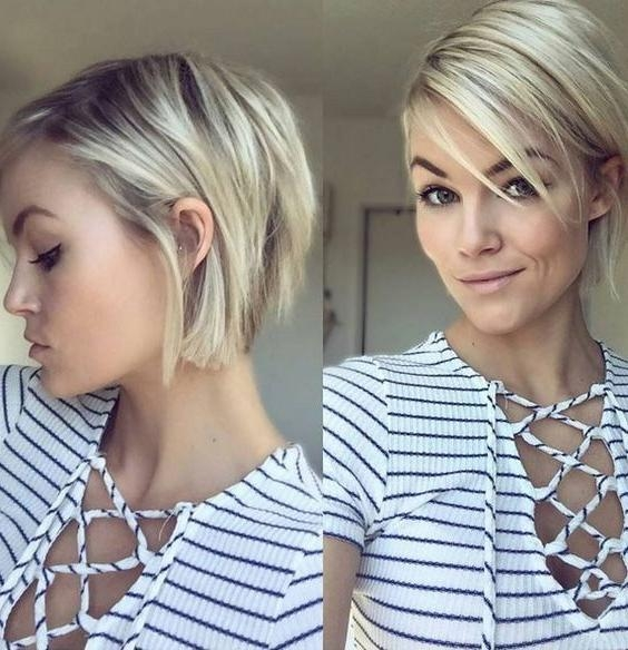 Best 25+ Edgy Bob Haircuts Ideas On Pinterest | Medium Short Hair Regarding Edgy Short Bob Haircuts (View 4 of 15)