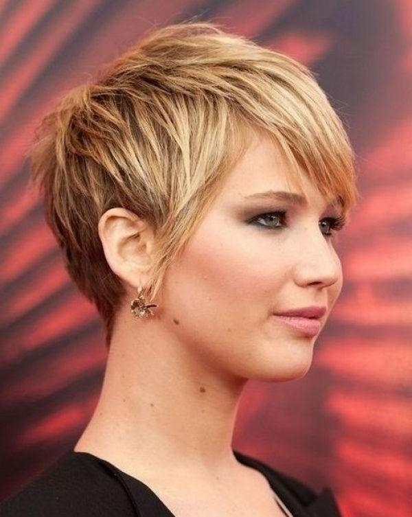 Best 25+ Fat Face Hairstyles Ideas On Pinterest | Pixie Cut Round With Short Hair Styles For Chubby Faces (View 10 of 15)