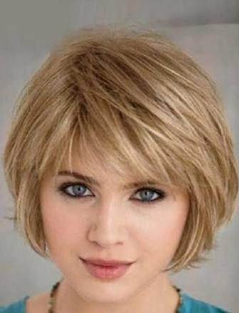 Best 25+ Haircuts For Fat Faces Ideas On Pinterest | Hairstyles For Short Hairstyles For Fine Hair And Fat Face (View 12 of 15)