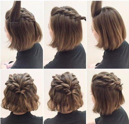 Best 25+ Hairstyles For Short Hair Ideas On Pinterest | Styles For Intended For Cute Hairstyles With Short Hair (View 7 of 15)