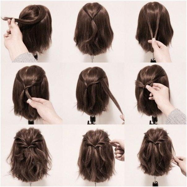 Best 25+ Hairstyles For Short Hair Ideas On Pinterest | Styles For Throughout Cute Hairstyles With Short Hair (View 10 of 15)