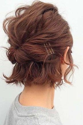 Best 25+ Hairstyles Short Hair Ideas On Pinterest | Hairstyles For For Cute Hairstyles For Short Hair For A Wedding (View 8 of 15)