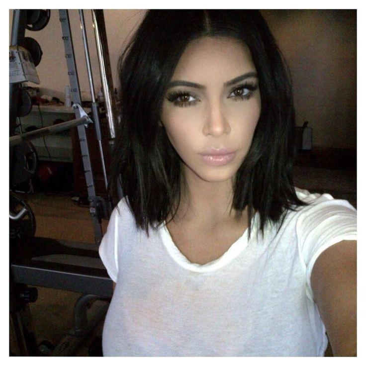 Best 25+ Kim Kardashian Haircut Ideas On Pinterest | Kim Pertaining To Kim Kardashian Short Hairstyles (View 1 of 15)