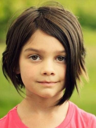 Best 25+ Little Girl Short Haircuts Ideas On Pinterest | Little Intended For Short Hairstyles For Young Girls (View 10 of 15)
