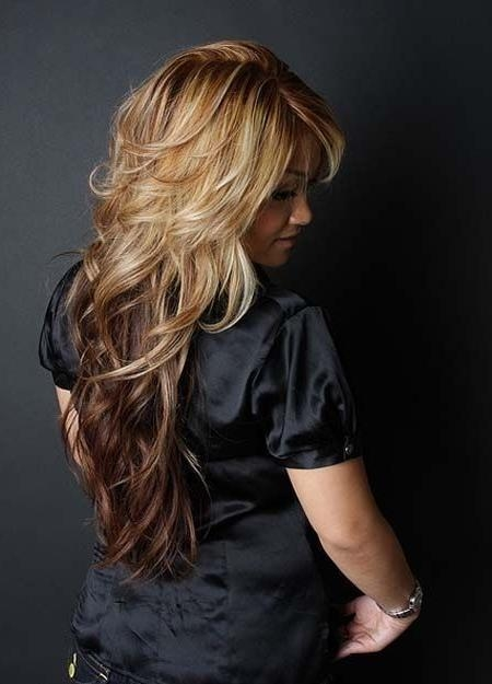 Photo Gallery Of Long Hairstyles Short Layers Viewing 3 Of 15 Photos