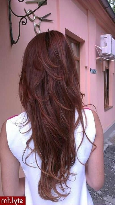 Best 25+ Long Hair Short Layers Ideas Only On Pinterest | Long For Long And Short Layers (View 4 of 15)