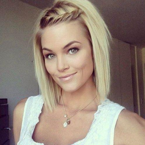 Best 25+ Low Maintenance Hairstyles Ideas On Pinterest   Fine Hair Inside Cute Medium To Short Haircuts (View 4 of 15)