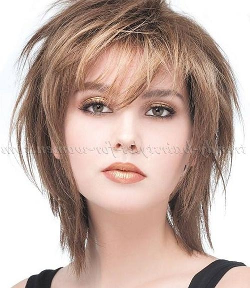 Best 25+ Medium Haircuts For Straight Hair Ideas On Pinterest Pertaining To Short Shoulder Length Hairstyles For Women (View 10 of 15)