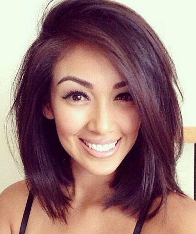 Best 25+ Medium Short Hair Ideas That You Will Like On Pinterest Within Cute Medium Short Haircuts (View 7 of 15)