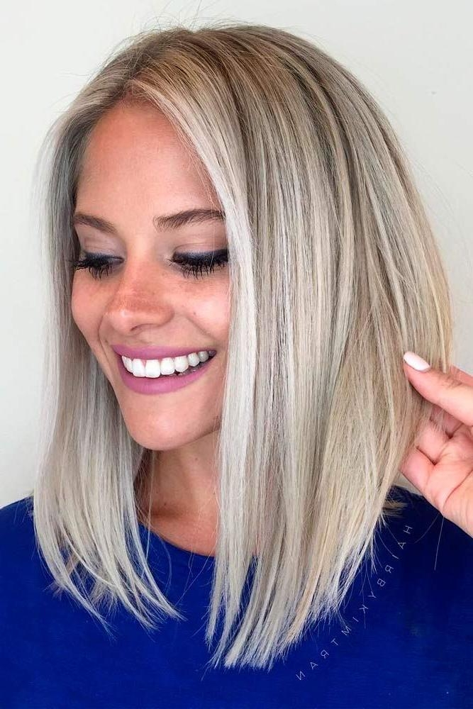 Best 25+ Medium Short Haircuts Ideas On Pinterest | Medium Short Inside Cute Medium Short Hairstyles (View 5 of 15)