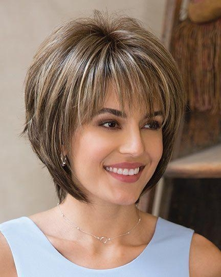 Best 25+ Medium Short Haircuts Ideas On Pinterest | Medium Short Intended For Latest Short Hairstyles For Ladies (View 8 of 15)