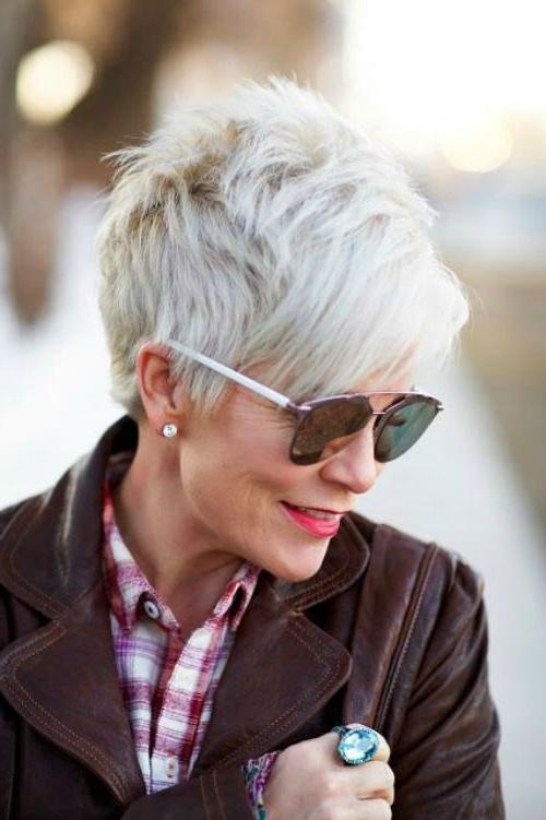 Best 25+ Over 60 Hairstyles Ideas Only On Pinterest | Hairstyles Regarding Short Haircuts For 60 Year Olds (View 11 of 15)