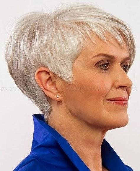 Best 25+ Over 60 Hairstyles Ideas Only On Pinterest | Hairstyles With Short Haircuts For 60 Year Old Woman (View 4 of 15)