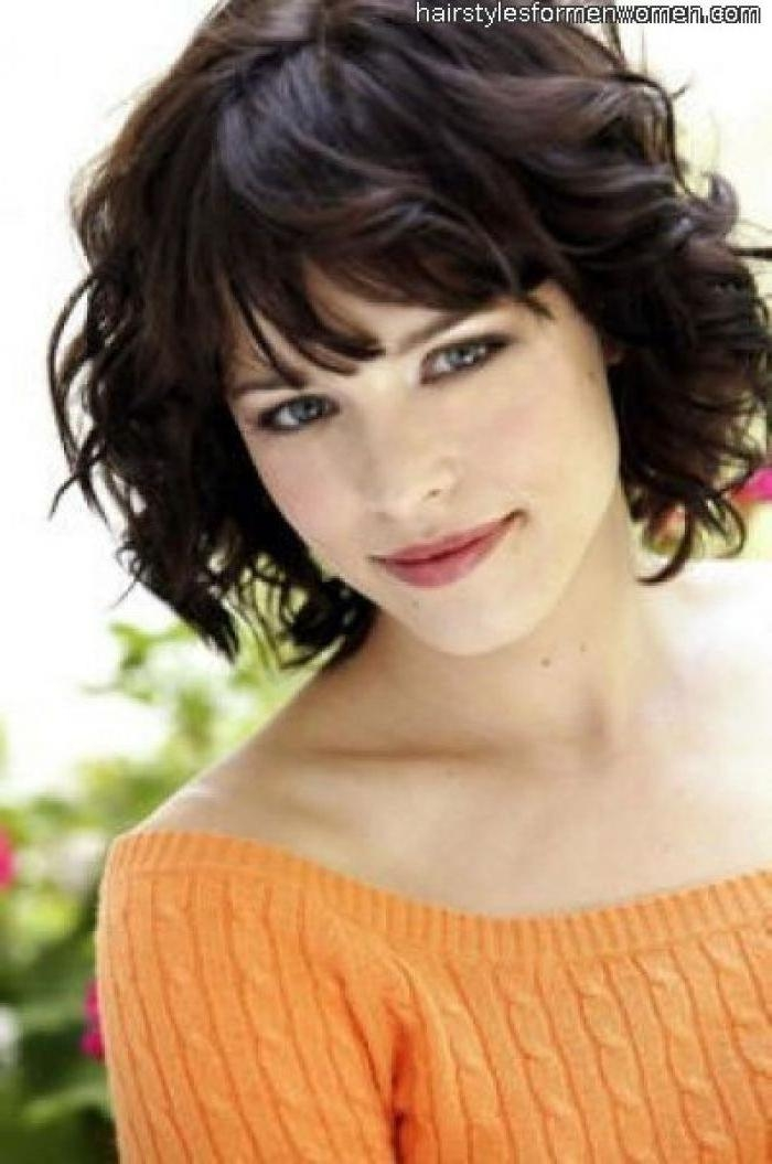 Best 25+ Pixie Haircut For Thick Hair Wavy Ideas Only On Pinterest Inside Medium Short Haircuts For Thick Wavy Hair (View 7 of 15)