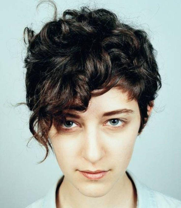 Best 25+ Pixie Hairstyles For Thick Hair Undercut Ideas Only On Regarding Edgy Short Curly Haircuts (View 7 of 15)