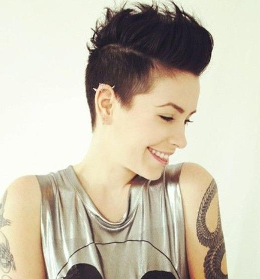Best 25+ Punk Pixie Haircut Ideas Only On Pinterest | Punk Pixie Inside Short Edgy Girl Haircuts (View 8 of 15)