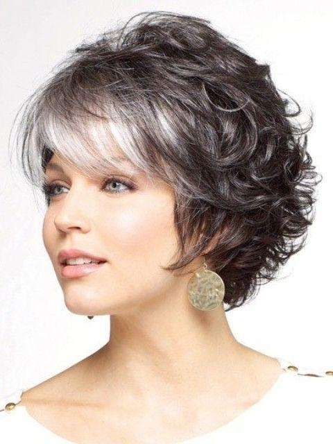 Best 25+ Short Curly Hairstyles Ideas Only On Pinterest | Short Intended For Short Haircuts For Women Curly (View 4 of 15)