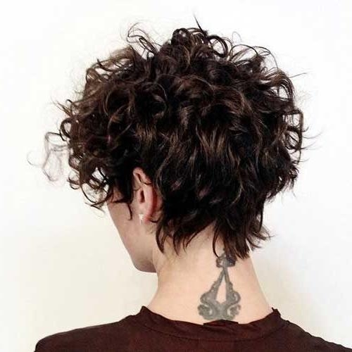 Best 25+ Short Curly Hairstyles Ideas Only On Pinterest | Short With Regard To Short Hairstyles For Women With Curly Hair (View 15 of 15)