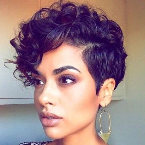 Best 25+ Short Curly Hairstyles Ideas Only On Pinterest | Short Within Short Hairstyles For Ladies With Curly Hair (View 12 of 15)