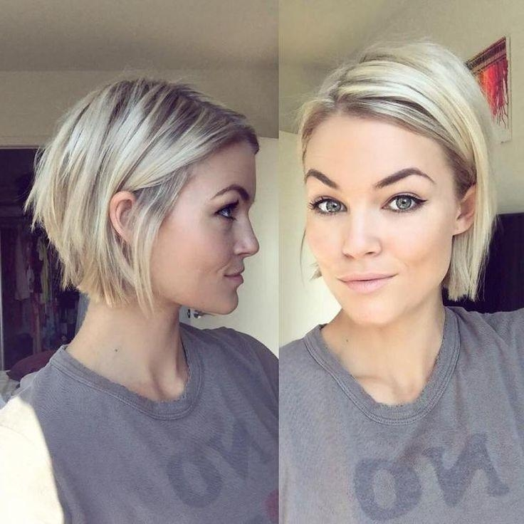 Best 25+ Short Fine Hair Ideas On Pinterest | Fine Hair Cuts, Fine Pertaining To Cute Short Hairstyles For Fine Hair (View 9 of 15)