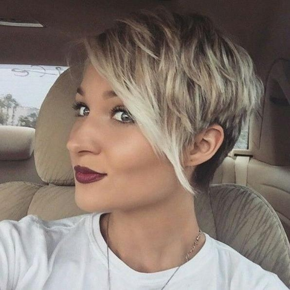 Best 25+ Short Fine Hair Ideas On Pinterest | Fine Hair Cuts, Fine With Short Trendy Hairstyles For Women (View 9 of 15)