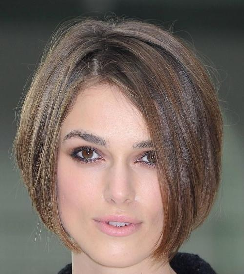Best 25+ Short Hair Cuts For Fine Thin Hair Ideas On Pinterest For Short Bobs For Oval Faces (View 15 of 15)