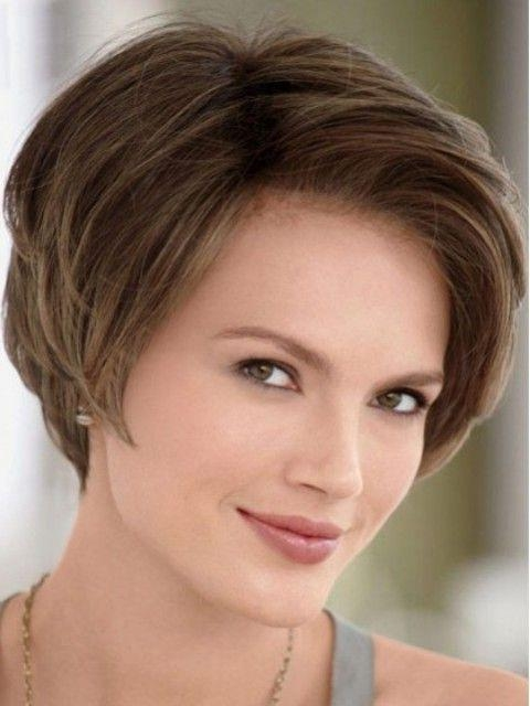 Best 25+ Short Hair Oval Face Ideas On Pinterest | Cabello Corto Within Short Hairstyles Oval Face (View 10 of 15)