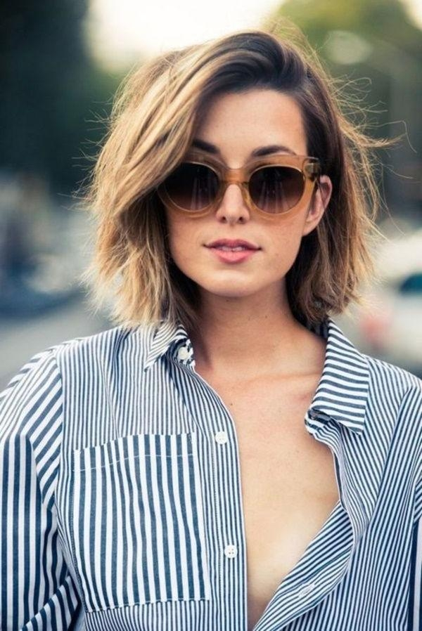 Best 25+ Short Haircuts Ideas On Pinterest | Blonde Bobs Inside Cute Medium To Short Haircuts (View 8 of 15)