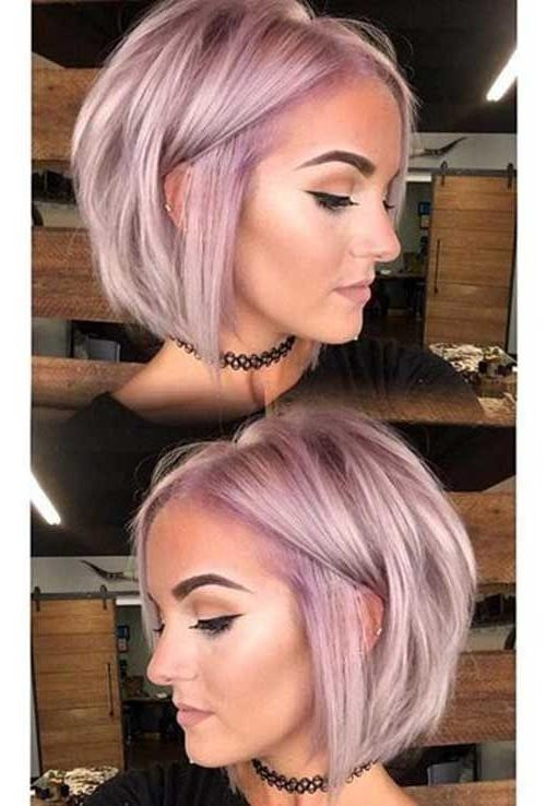Best 25+ Short Haircuts Ideas On Pinterest | Blonde Bobs Regarding Cute Hairstyles For Shorter Hair (View 6 of 15)