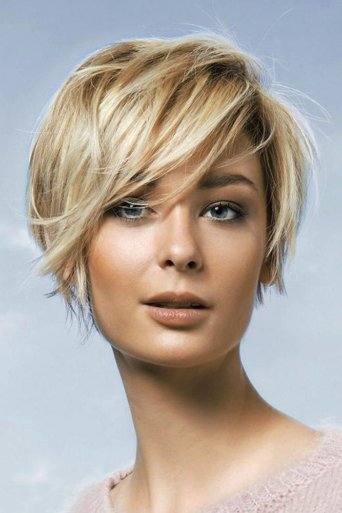 Best 25+ Short Hairstyles For Women Ideas On Pinterest | Short With Regard To Short Female Hair Cuts (View 10 of 15)
