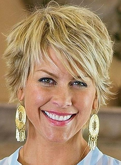 Best 25+ Short Hairstyles Over 50 Ideas Only On Pinterest | Short In Short Haircuts For Over 50s (View 14 of 15)