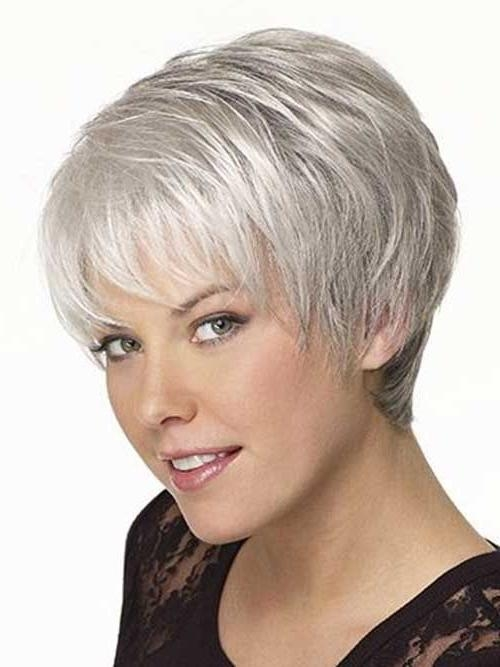 Featured Photo of Short Haircuts For Women 50 And Over