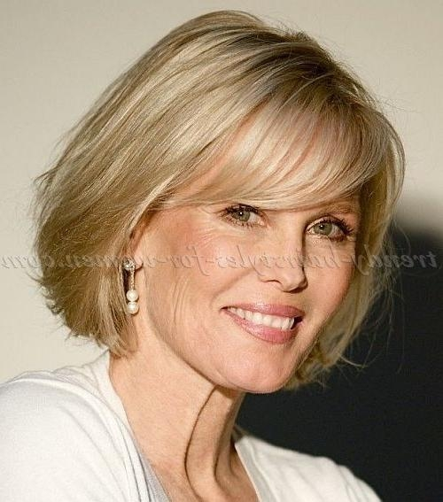 2018 Latest Short Hairstyles For Over 50S