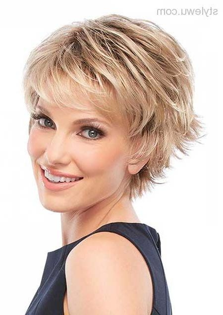 Best 25+ Short Hairstyles Over 50 Ideas Only On Pinterest | Short Intended For Short Layered Hairstyles For Fine Hair Over (View 4 of 15)