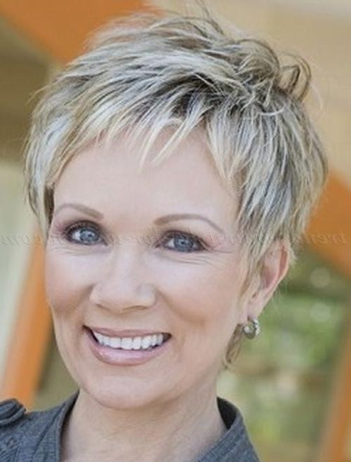 Best 25+ Short Hairstyles Over 50 Ideas Only On Pinterest | Short Throughout Short Hairstyles For Over 50s (View 2 of 15)