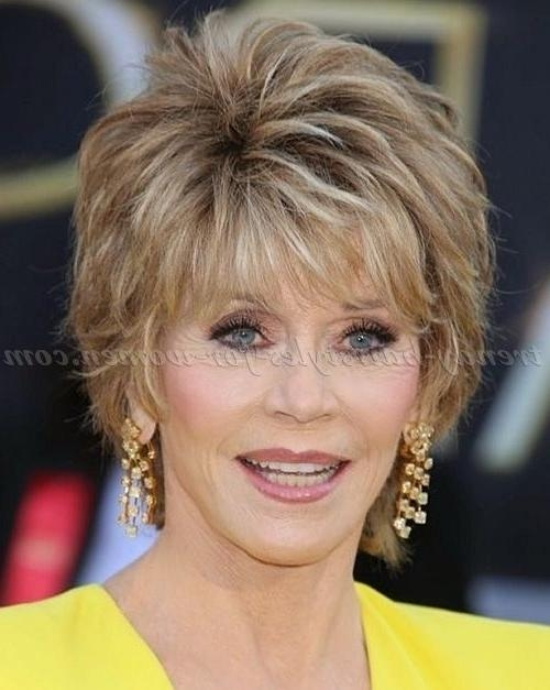 Featured Photo of Short Hairstyles For Over 50S