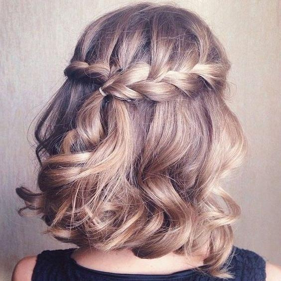 Best 25+ Short Prom Hairstyles Ideas Only On Pinterest | Short Pertaining To Cute Short Hairstyles For Homecoming (View 12 of 15)