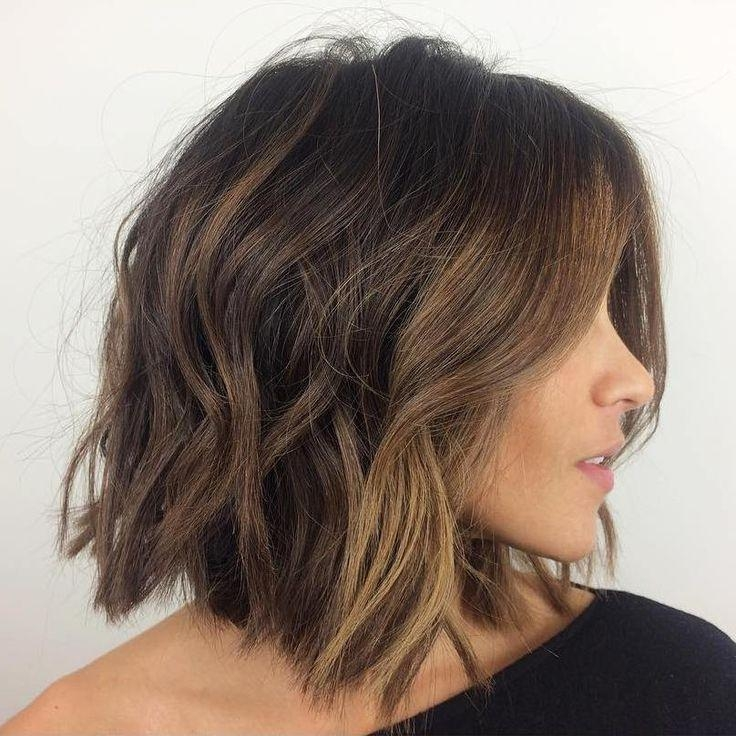 Best 25+ Short Thick Hair Ideas On Pinterest | Medium Short Hair Throughout Short Medium Hairstyles For Thick Hair (View 6 of 15)