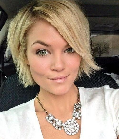 Best 25+ Short Thin Hair Ideas On Pinterest | Long Pixie Bob Within Cute Hairstyles For Short Thin Hair (View 12 of 15)