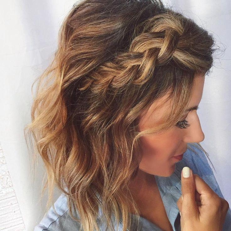 Best 25+ Short Wedding Hairstyles Ideas On Pinterest | Wedding Inside Cute Wedding Hairstyles For Short Hair (View 3 of 15)