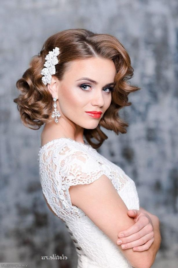 Featured Photo of Brides Hairstyles For Short Hair