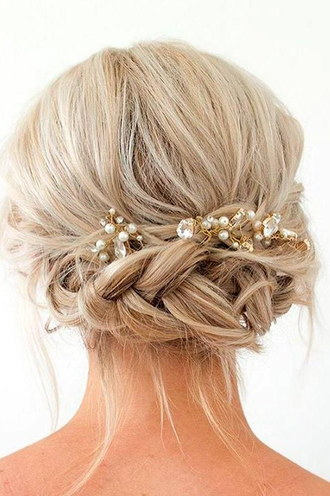 Best 25+ Short Wedding Hairstyles Ideas On Pinterest | Wedding Regarding Cute Wedding Hairstyles For Short Hair (View 2 of 15)