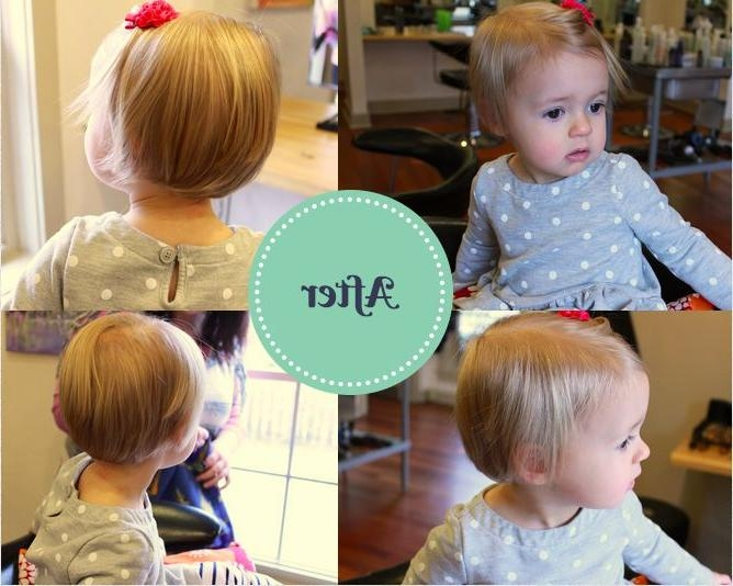 Best 25+ Toddler Girl Haircuts Ideas On Pinterest | Haircuts For With Baby Girl Short Hairstyles (View 9 of 15)