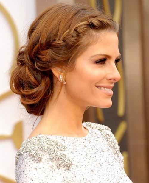 Photo Gallery of Wedding Guest Hairstyles For Short Hair (Viewing 5 ...