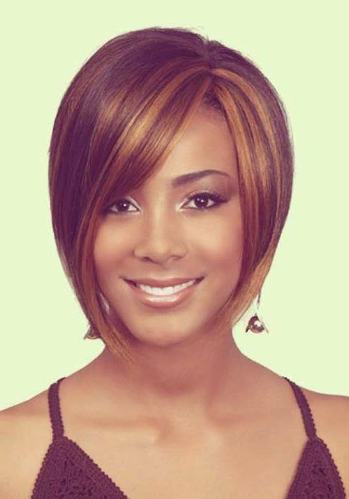 Best Short Haircuts For Long Faces 2017: Easy Short Weave Formal Inside Short Weaves For Oval Faces (View 3 of 15)