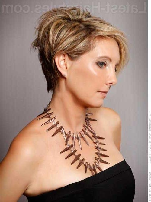 Best Short Haircuts For Women Over 50 | Short Hairstyles 2016 Regarding Short Women Hairstyles Over  (View 13 of 15)